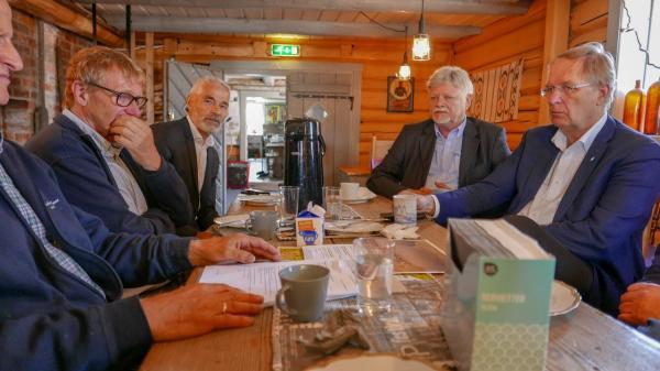 Besøk av politikere fra Tønsberg Kommune