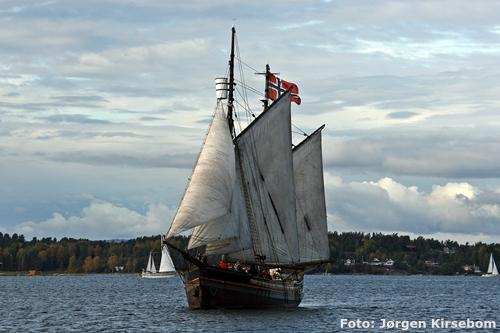Nøtterøy Rundt med verdens eldste seilende Ishavsskute